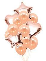 Недорогие -Воздушный шар Фольга 1 комплект Вечеринка / ужин
