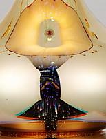 Недорогие -Традиционный / классический Декоративная Настольная лампа Назначение Спальня Стекло 220-240Вольт