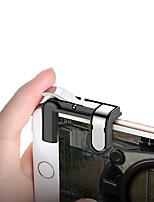 abordables -Gâchette de jeu Pour Android / iOS ,  Portable / Créatif / Design nouveau Gâchette de jeu PVC / Métal 1 pcs unité