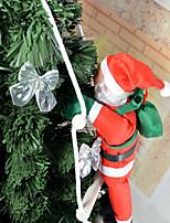 Недорогие -Праздничные украшения Рождественский декор Рождественские украшения Декоративная Цветастый / Красный 1шт