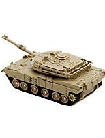 Недорогие -Игрушечные машинки Военная техника Танк Армия Танк Автомобиль Алюминиевые сплавы Детские Все Игрушки Подарок 1 pcs