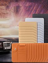 Недорогие -Органайзеры для авто Чехол для CD Кожа Назначение Универсальный Все года Все модели