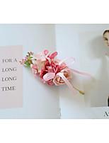 Недорогие -Жен. несовместимый Броши - Брошь Бижутерия Светло-Розовый Назначение Свадьба / Официальные