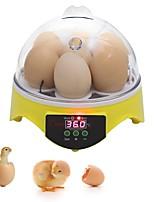 abordables -Factory OEM Nouveautés 7 egg Digital Incubator pour Cour Affichage de la Température / Indicateur LED 110-240 V