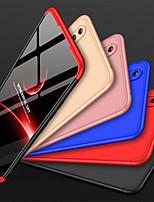 Недорогие -Кейс для Назначение Huawei Huawei Honor 8X Защита от удара / Матовое Кейс на заднюю панель Однотонный Твердый ПК для Huawei Honor 8X