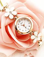baratos -Mulheres Bracele Relógio Relógio de Pulso Quartzo Relógio Casual Lega Banda Analógico Elegante Minimalista Dourada - Dourado / Preto Branco / Dourado