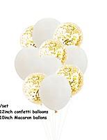 baratos -Balão Emulsão 10pçs Casamento