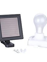 baratos -1pç 1 W Focos de LED / Luz de rua conduzida / Luz da parede solar Impermeável / Solar / Decorativa Branco 3.2 V Iluminação Externa / Pátio / Jardim 2 Contas LED