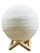Недорогие -лампа юпитер погладил триколор 15 см умные огни mxd1 1502 3d печать свет дома декоративные ночной свет для подарка