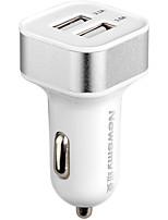 Недорогие -Newmine Автомобиль Автомобильное зарядное устройство / Прикуриватель 2 USB порта для 12 V