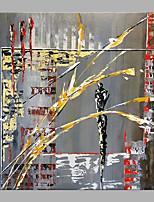 abordables -Peinture à l'huile Hang-peint Peint à la main - Abstrait Classique Moderne Sans cadre intérieur / Toile roulée