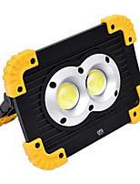 baratos -YWXLIGHT® 1pç 20 W Focos de LED Novo Design / Legal Branco Frio 4.5 V Iluminação Externa 2 Contas LED