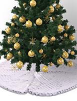 Недорогие -Новогодние ёлки / Рождество Новогодняя ёлка Ткань Рождественская елка / Круглый Оригинальные Рождественские украшения