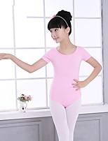 abordables -Danse classique justaucorps Femme / Fille Entraînement / Utilisation Elasthanne / Lycra Elastique Manches Courtes Collant / Combinaison