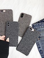 abordables -Coque Pour Apple iPhone XR / iPhone XS Max Dépoli Coque Couleur Pleine Flexible TPU pour iPhone XS / iPhone XR / iPhone XS Max