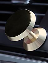 Недорогие -Автомобиль Держатель подставки Рабочая панель Магнитный тип / 360 ° Вращение Металл Держатель