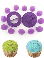 Недорогие -Инструменты для выпечки пластик Торты Печенье Для приготовления пищи Посуда Формы для пирожных Десерт Декораторы 14pcs