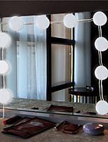 baratos -Brelong levou inteligente toque espelho frente beleza encher lâmpada 1 pc