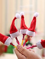 Недорогие -Праздничные украшения Рождественский декор Рождество Декоративная Красный 10 шт.