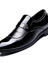 Недорогие -Муж. Комфортная обувь Полиуретан Зима Туфли на шнуровке Черный / Для вечеринки / ужина