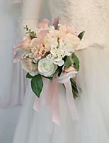 Недорогие -Свадебные цветы Букеты Свадьба / Свадебные прием Шелковый Как атласные / Гербарий 11-20 cm