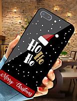Недорогие -Кейс для Назначение Apple iPhone XR / iPhone XS Max С узором Кейс на заднюю панель Рождество Мягкий ТПУ для iPhone XS / iPhone XR / iPhone XS Max