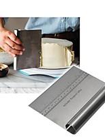Недорогие -нержавеющая сталь пицца тесто скребок резак выпечка кондитерские изделия шпатели фонданные торты украшения инструменты кухонные принадлежности