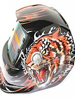 Недорогие -солнечная автоматическая потемнение сварочный шлем 107 тигр