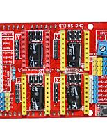 Недорогие -новый чпу щит v3 arduino гравировальный станок плата расширения / 3d принтер a4988 доска водителя