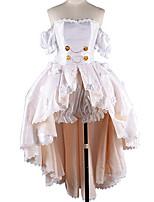 abordables -Inspiré par Aime la vie Cosplay Manga Costumes de Cosplay Costumes Cosplay Couleur Pleine Robe / Plus d'accessoires Pour Homme / Femme