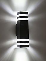 baratos -1pç 8 W Focos de LED Impermeável Branco Quente / Branco Frio 85-265 V Iluminação Externa / Pátio / Jardim 8 Contas LED