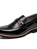 Недорогие -Муж. Официальная обувь Синтетика Весна & осень На каждый день / Английский Мокасины и Свитер Нескользкий Белый / Черный