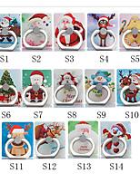 billiga -Skrivbord Montera stativhållare Christmas Santa Claus Phone Holder Justerbar / 360 ° rotation ABS Hållare