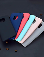 abordables -Coque Pour Huawei Huawei Mate 20 Pro / Huawei Mate 20 Dépoli Coque Couleur Pleine Flexible TPU pour Mate 10 / Mate 10 pro / Mate 10 lite