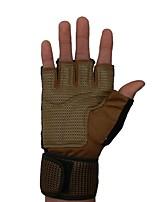 """Недорогие -Half-палец Муж. Мотоцикл перчатки Ткань """"Оксфорд"""" / Микроволокно / Смешанные материалы Дышащий / Износостойкий / Ударопрочность"""
