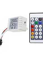 Недорогие -1шт Газонокосилка / 24keys / RF Wireless пластик Контроллер для RGB LED Strip Light