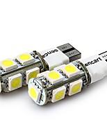 Недорогие -SENCART 4шт T10 Мотоцикл / Автомобиль Лампы 2 W SMD 5050 120 lm 9 Светодиодная лампа Лампа поворотного сигнала / Задний свет / Внутреннее освещение Назначение