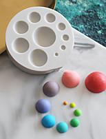 Недорогие -Инструменты для выпечки Силикон Милый Торты / Для приготовления пищи Посуда Круглый Формы для пирожных 1шт