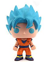 billiga -Anime Actionfigurer Inspirerad av Dragon Ball saiyan pvc 10 cm CM Modell Leksaker Dockleksak