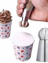 Недорогие -Инструменты для выпечки Нержавеющая сталь Торты / Для приготовления пищи Посуда Десерт Декораторы / Десертные инструменты 3шт