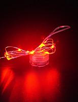 Недорогие -brelong 20led водостойкая кнопка декоративная медная проволока лампа 1 шт.