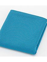 abordables -Qualité supérieure Serviette de sport, Couleur Pleine 100% Microfibre Salle de séjour 1 pcs