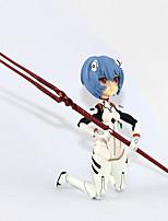 billiga -Anime Actionfigurer Inspirerad av Neon Genesis Evangelion Rei Ayanami pvc 14 cm CM Modell Leksaker Dockleksak