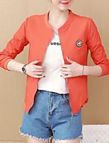 Недорогие -женская хлопчатобумажная куртка - цветная подставка