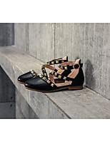 Недорогие -Мальчики / Девочки Обувь Микроволокно Лето Удобная обувь Сандалии для Дети Белый / Черный