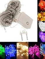 billiga -BRELONG® 10m Ljusslingor 100 lysdioder SMD 0603 Varmvit / RGB / Vit Vattentät / Party / Dekorativ 220-240 V 1st