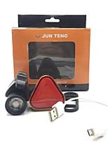 Недорогие -Передняя фара для велосипеда Светодиодная лампа Велосипедные фары LED Велоспорт Водонепроницаемый, Портативные, Для профессионалов 3000 lm USB Натуральный белый / Красный