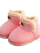 abordables -Fille Chaussures Matière synthétique Hiver Bottes de neige / Doublure en fourrure Bottes pour Bébé Noir / Fuchsia / Rose / Bottine / Demi Botte