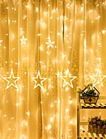 abordables -4m Guirlandes Lumineuses 138 LED Blanc Chaud Décorative 220-240 V 1 set