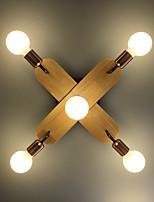 Недорогие -ZHISHU 5-Light Спутник Монтаж заподлицо Потолочный светильник Окрашенные отделки Металл Новый дизайн 110-120Вольт / 220-240Вольт